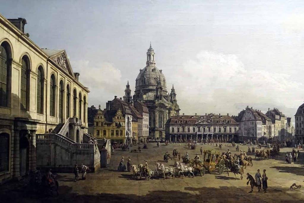 Canaletto Dresdner Neumarkt