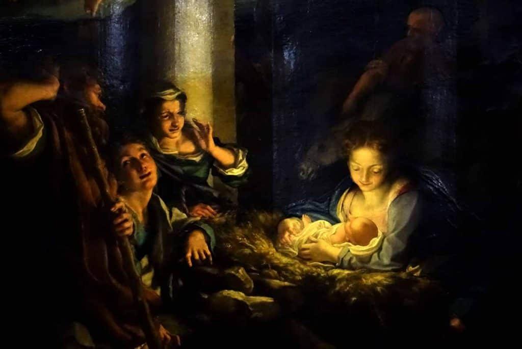 Correggio Die Heilige Nacht