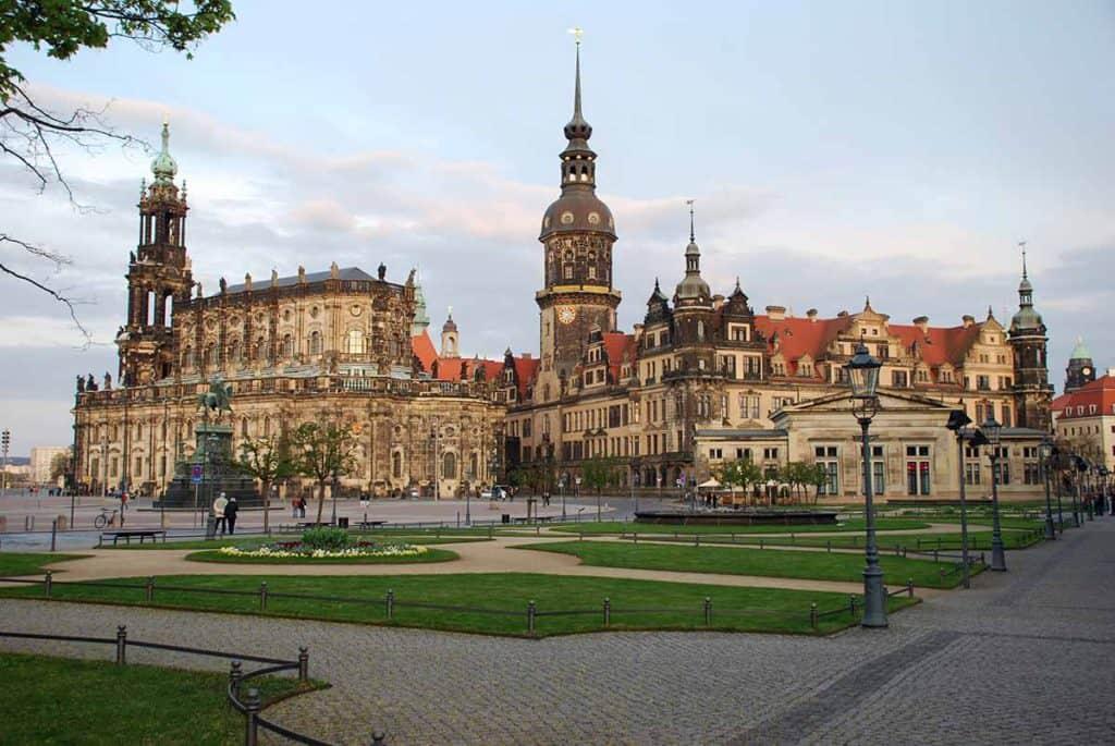 Dresden Residenzschloss und Kathedrale