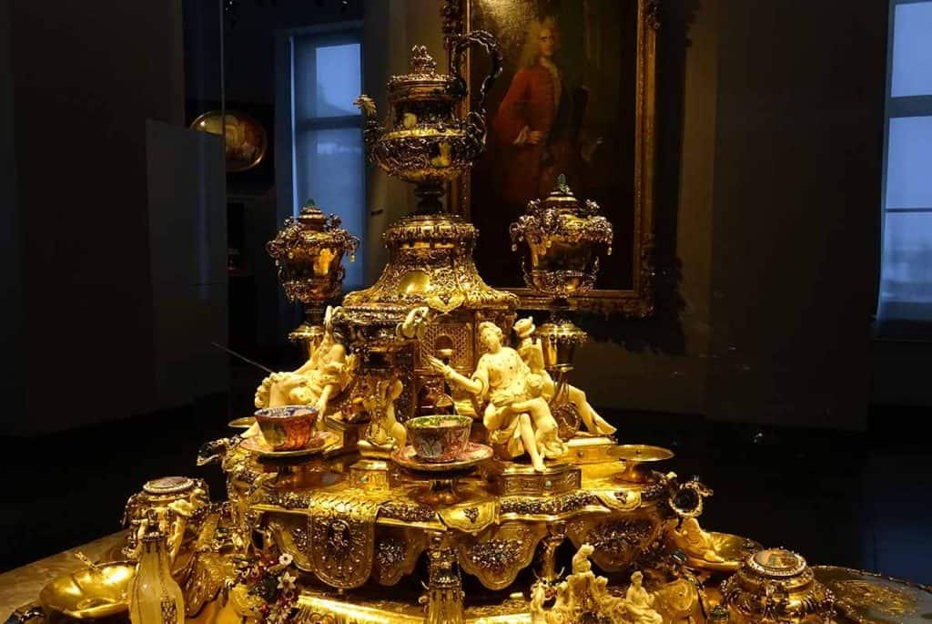 Goldenes Kaffeezeug Dinglinger