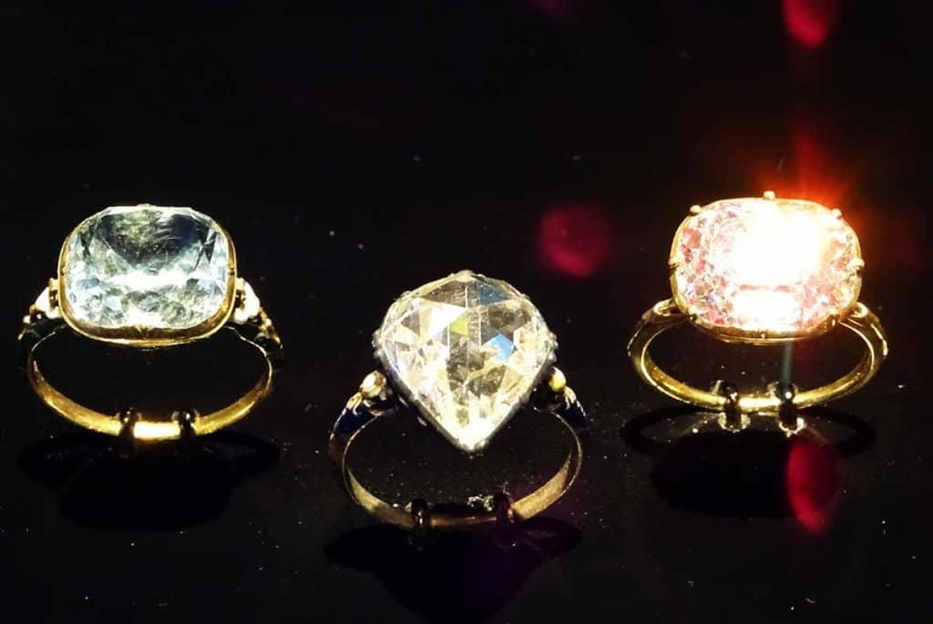 Grünes Gewölbe Diamantringe