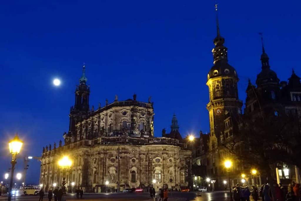 Kathedrale und Schloss Dresden