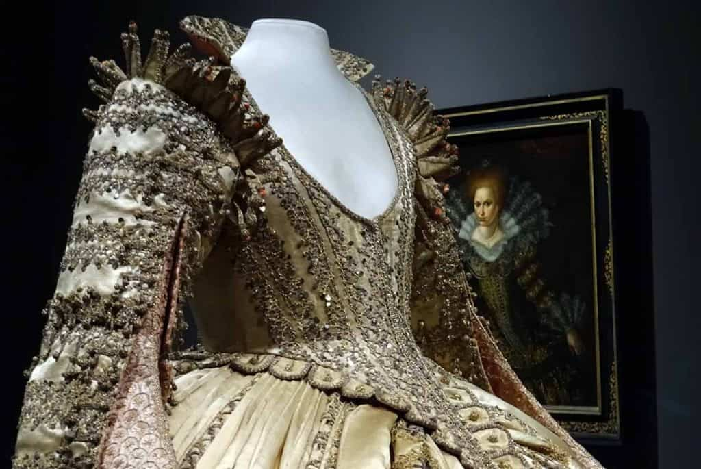 Kleid der Magdalena Sybilla