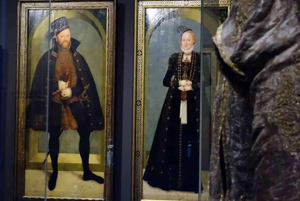 Kurfürst August und Kurfürstin Anna