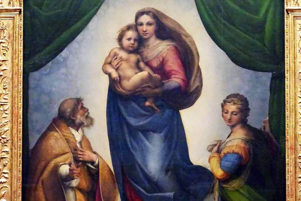Raffael Sixtinische Madonna 1512