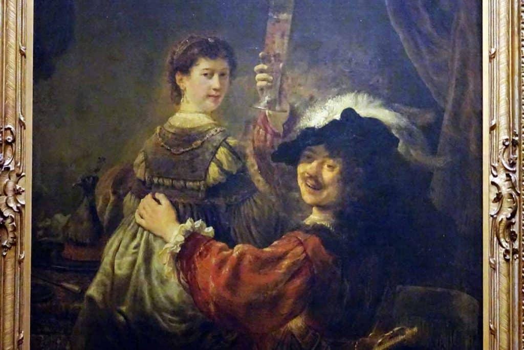 Rembrandt und Saskia