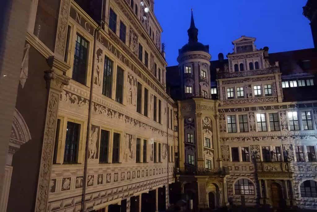 Residenzschloss Dresden Grosser Schlosshof