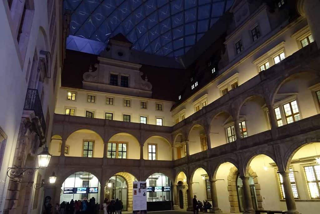 Residenzschloss Dresden Kleiner Schlosshof