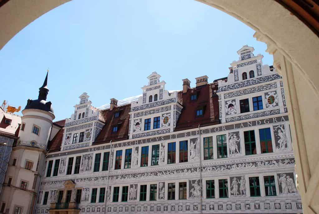 Residenzschloss Grosser Schlosshof