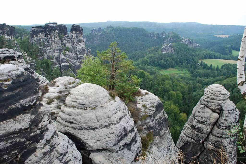 Sächsische Schweiz Basteiaussicht