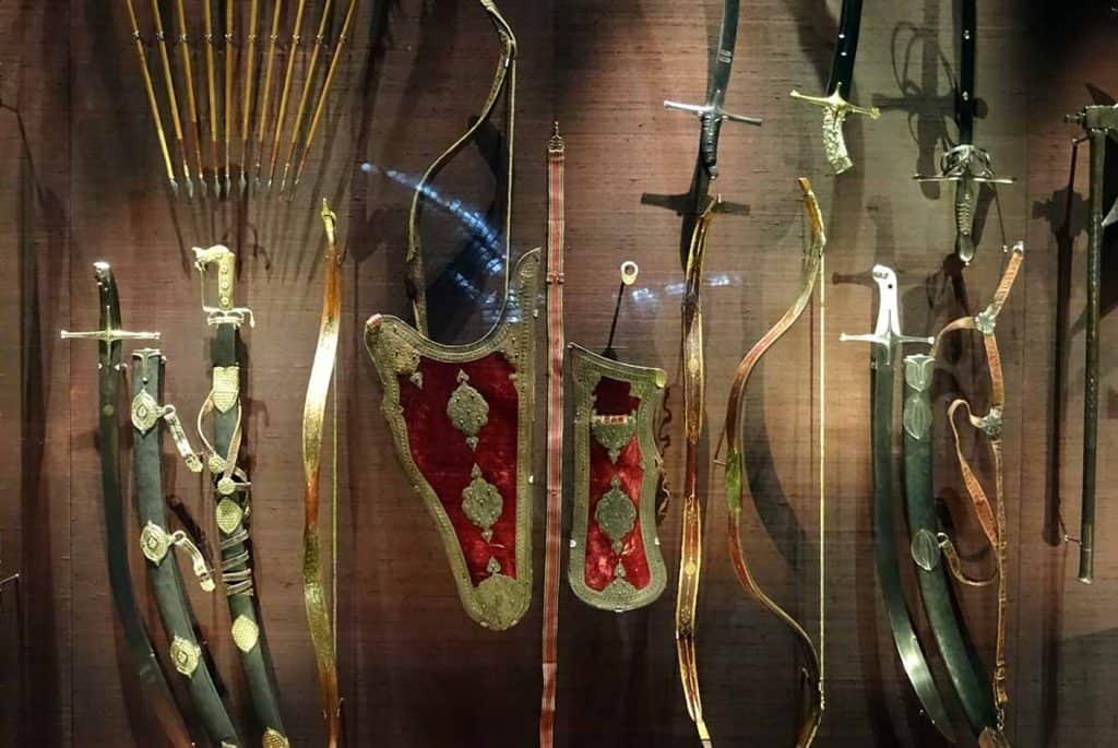 Türckische Cammer Pfeil und Bogen