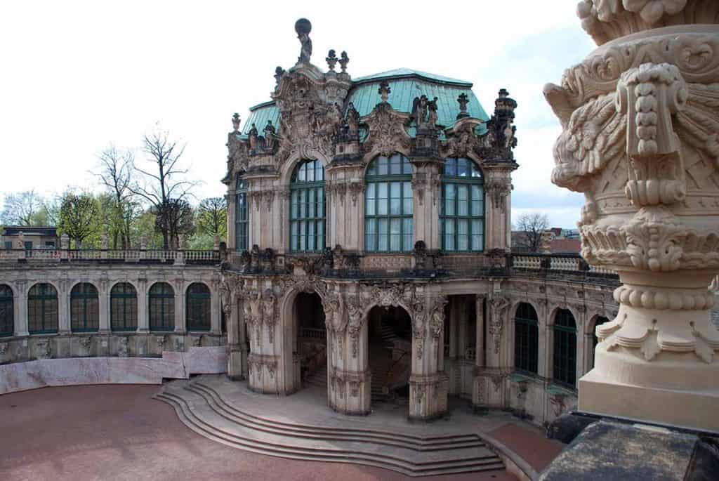 Zwinger Dresden Wallpavillon