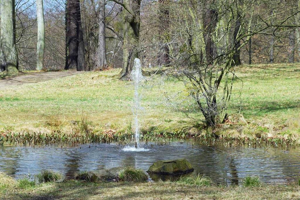 Brunnen Park Elbschlösser