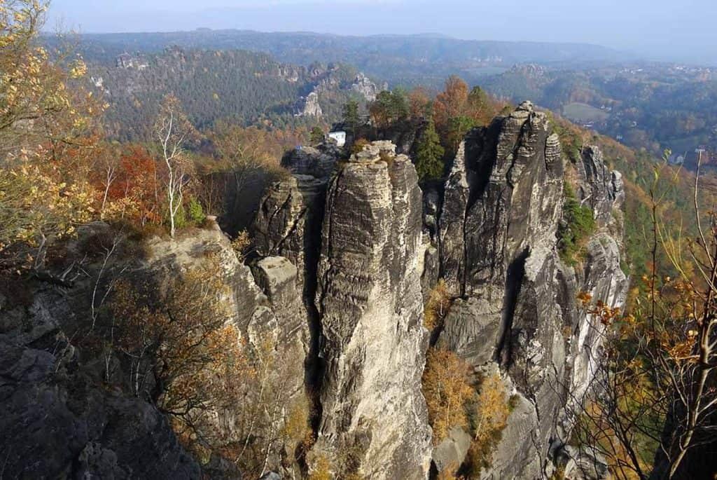 Felsenburg Neurathen Ausblick