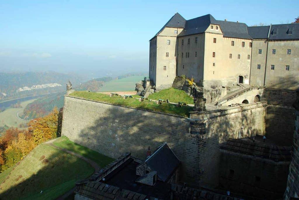 Festung Königstein Georgenburg