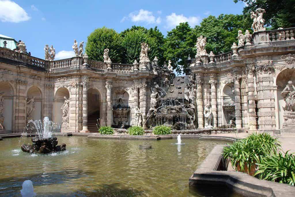 Zwinger Dresden Nymphenbad